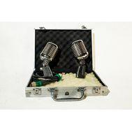 Микрофоны в серебристом кейсе (2шт) - аренда, прокат, фото 1