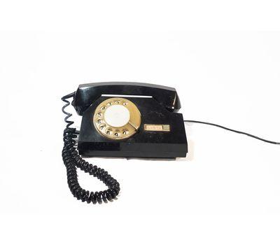 Телефон дисковый (черный) - аренда, прокат, фото 1
