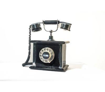 Телефон дисковый старинный (черный) - аренда, прокат, фото 1