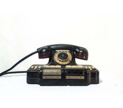 Телефон дисковый многоканальный (черный) - аренда, прокат, фото 1